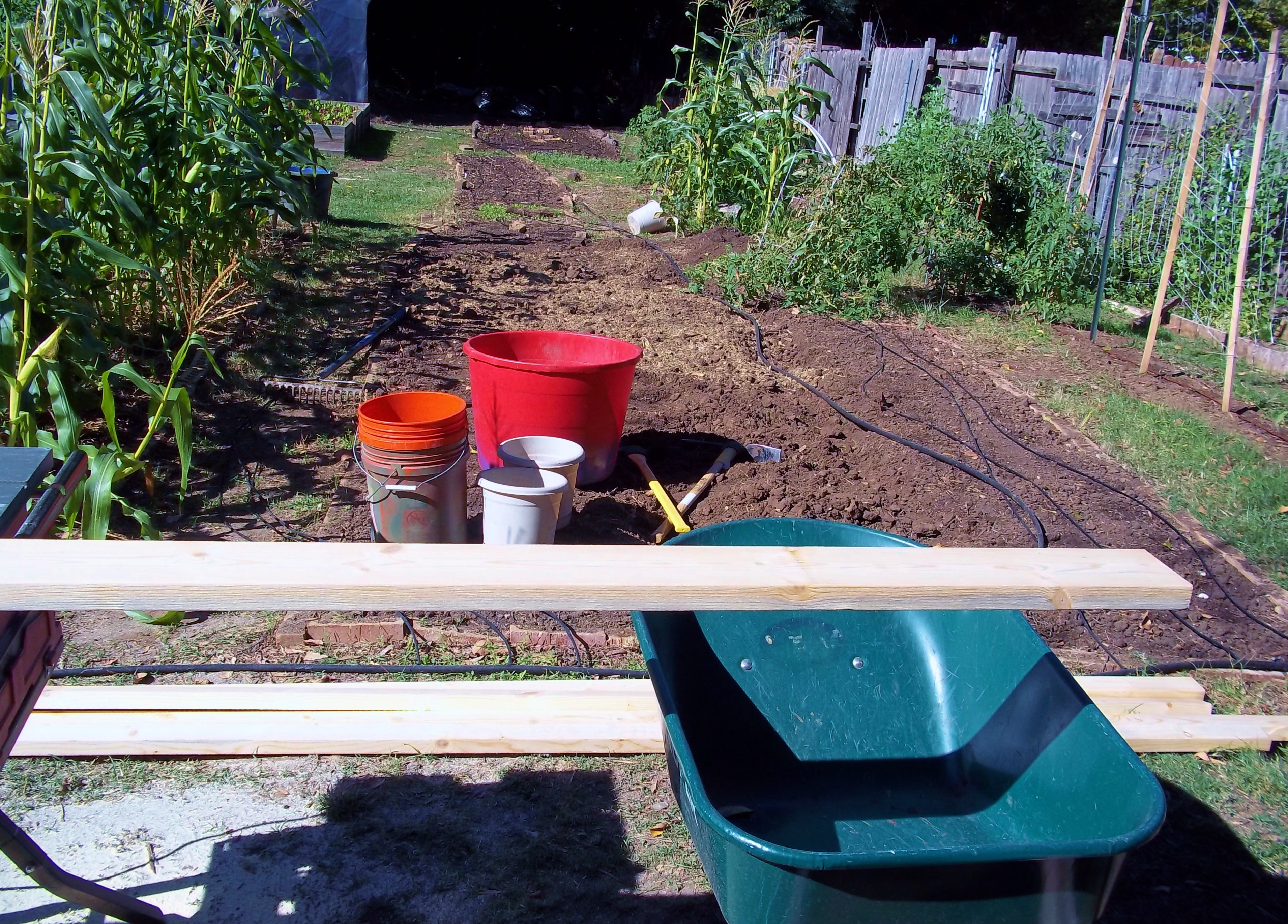 greenhouse construction denton 39 s backyard farms